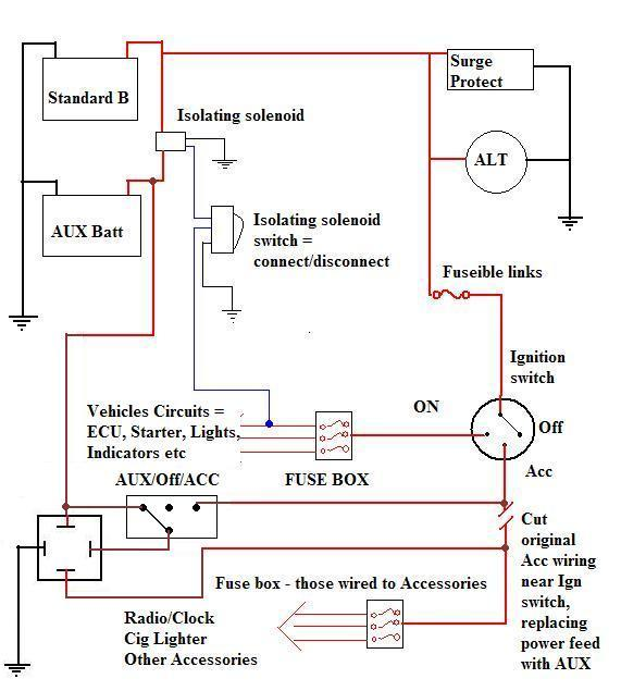 A few electrical diagrams that may be of interest OFFROADSUBARUS – Redarc Wiring Diagram