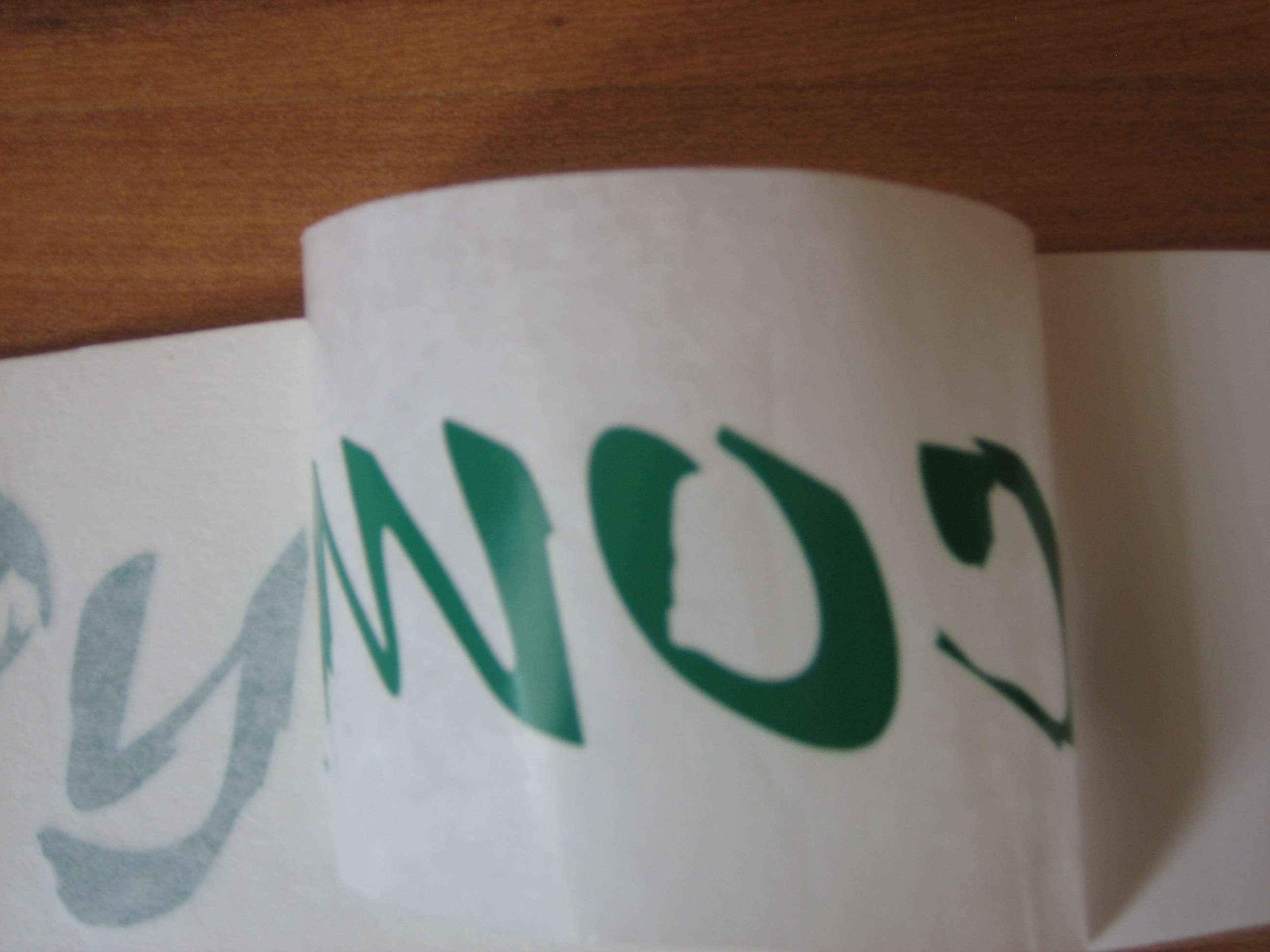 2x JapanDyno.com GREEN side Window sticker 290x35mm