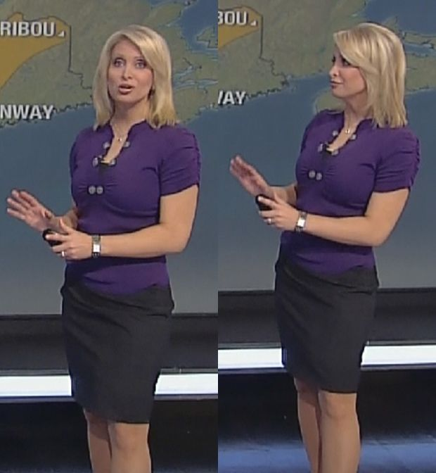 Heather Tesch Legs & Skirt Pics